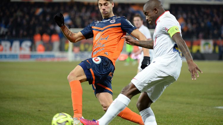 Lille et Montpellier déçoivent depuis le début de la saison  (BORIS HORVAT / AFP)