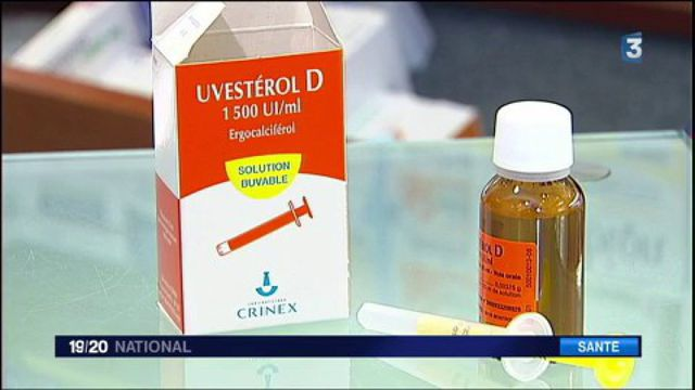 Décès d'un nourrisson : la vitamine Uvestérol D en question
