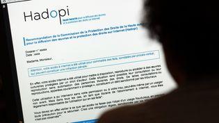 Le gouvernement s'est engagé à abroger la loi Hadopi qui instaure un dispositif de riposte graduée contre les internautes qui téléchargent illégalement de la musique et des films. (THOMAS COEX / AFP)