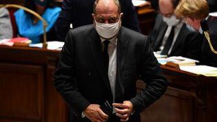 Le ministre de la Justice à l'Assemblée nationale, le 29 septembre 2020. (ALAIN JOCARD / AFP)