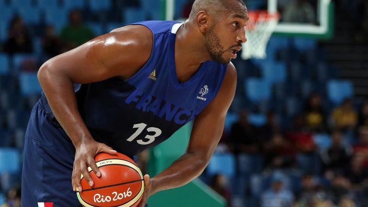 Boris Diaw, capitaine de l'équipe de France de basket. (EDDY LEMAISTRE / 2PIX-EL)