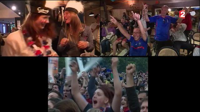 La victoire des Bleus fêtée dans tout le pays