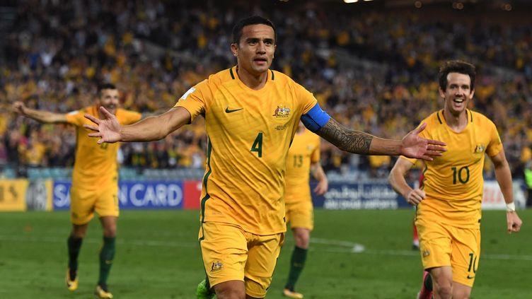 La joie de l'Australien Tim Cahill