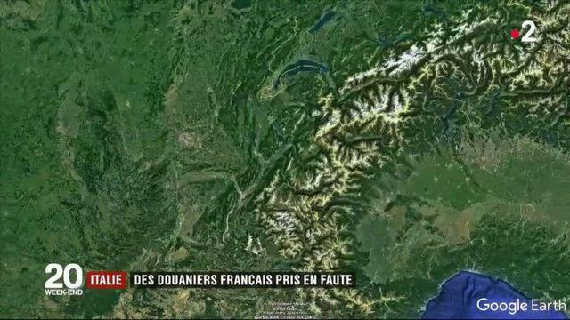 Italie : des douaniers français pris en faute