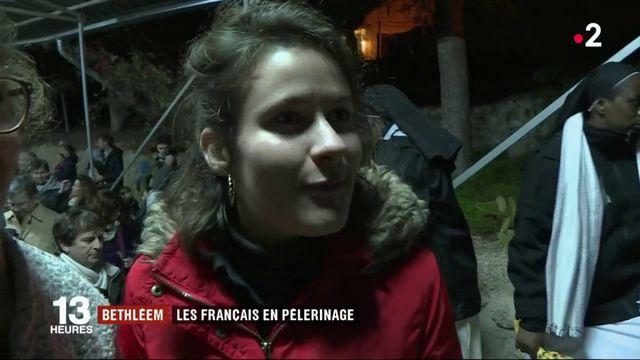 Bethléem : les Français en pèlerinage