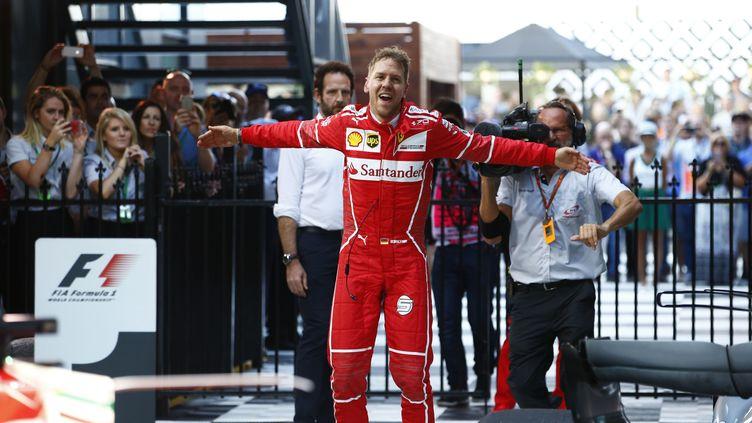 Sebastian Vettel s'est adjugé le premier Grand Prix de la saison à Melbourne (HZ / HOCH ZWEI)