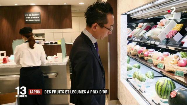 Japon : des fruits à prix d'or