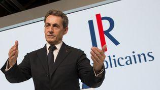 Le président des Républicains, Nicolas Sarkozy, le 30 mai 2015 à Paris. ( PHILIPPE WOJAZER / REUTERS)