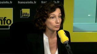 Audrey Azoulay, ministre de la Culture et de la Communication (Radio France)