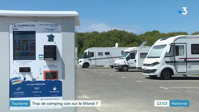 Tourisme : des camping-cars trop nombreux sur le littoral ?