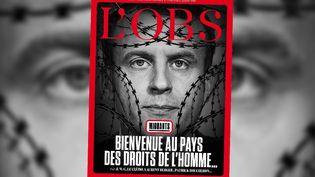 """La une de """"L'Obs"""" du 10 janvier 2018. (L'OBS / TWITTER)"""