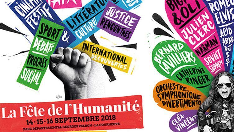 Partenariat fête de l'humanité 2018 (Radio France/ Fête de l'humanité)