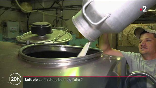 Agriculture : le lait bio, la fin d'une bonne affaire ?