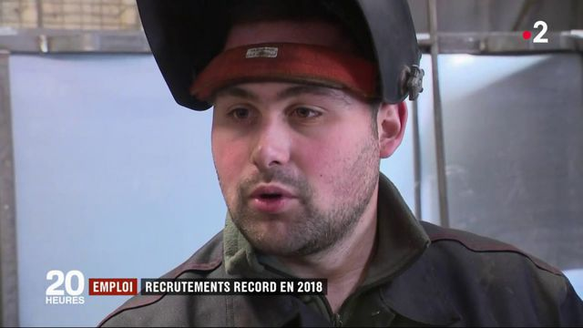 Emploi : recrutements record en 2018