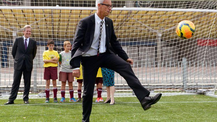 Le président de la Fédération Australienne de Football, David Gallop (WILLIAM WEST / AFP)