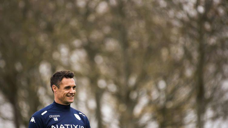 Dan Carter fera ses grands débuts en Coupe d'Europe. (LIONEL BONAVENTURE / AFP)