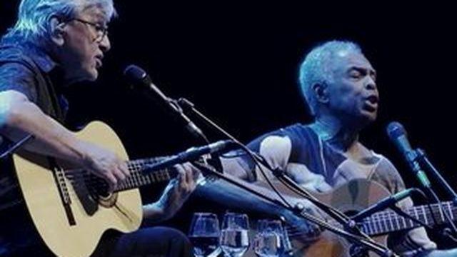 Caetano Veloso et Gilberto Gil : le duo repart en tournée !