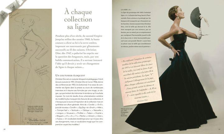 "Page extraite du livre ""Dior for ever""  (Dior et Condé Nast Archive/ Corbis)"