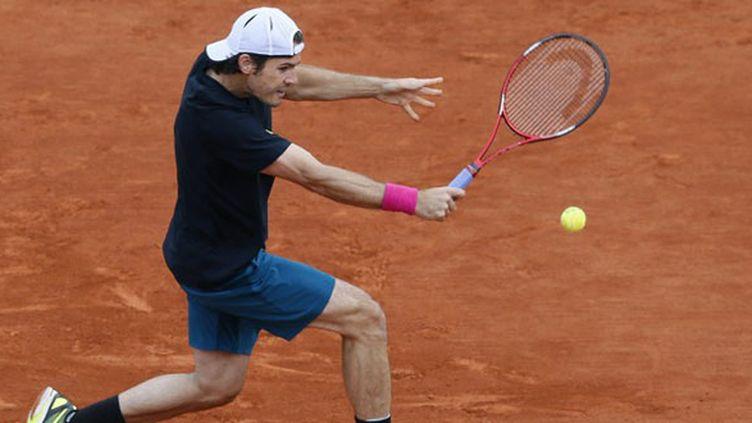 L'Allemand Tommy Haas pour la première fois en quart à Roland-Garros