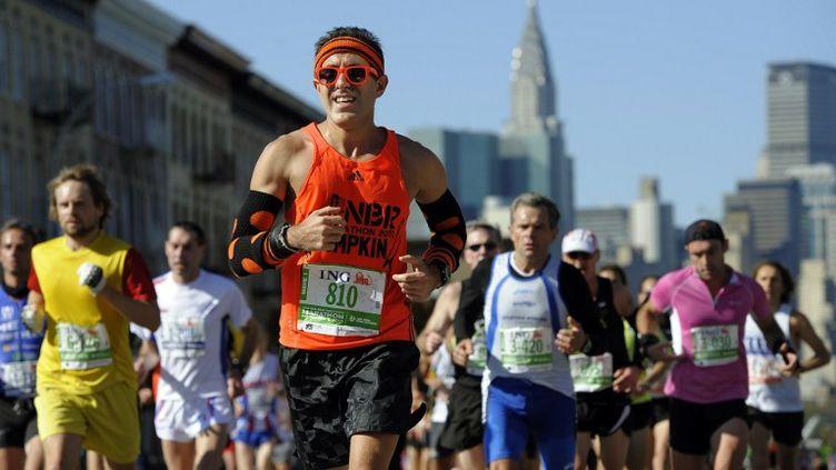 Des aprticipants au marathon de New York, le 6 novembre 2011. (TIMOTHY A. CLARY / AFP)