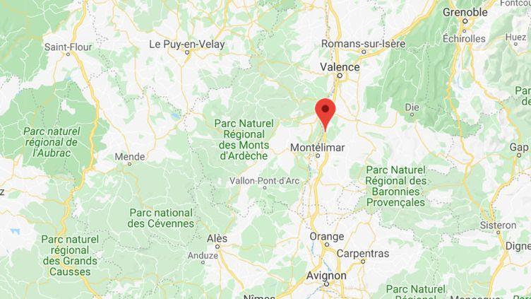 La commune des Tourrettes, dans la Drôme. (GOOGLE MAPS)