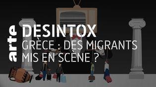 Non, il n'y a pas eu de mise en scène pour l'arrivée de migrants en Grèce (ARTE/LIBÉRATION/2P2L)
