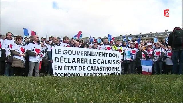 Migrants : à Paris, les Calaisiens veulent donner une autre image de leur ville