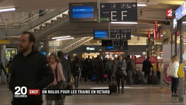 SNCF : un malus pour les trains en retard
