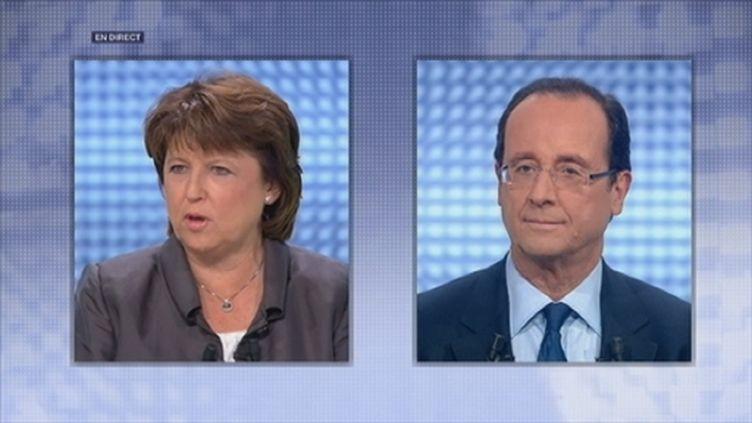 Les deux candidats (France 2)