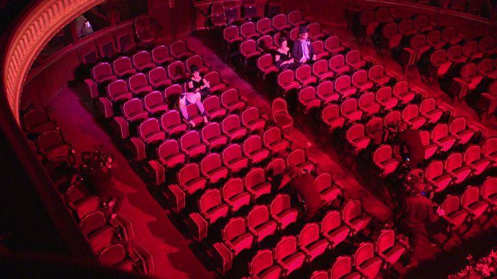La Belle Hélène revisitée pour une soirée de Gala dans une salle vide (France Télévisions / France 3 Ile-de-France)