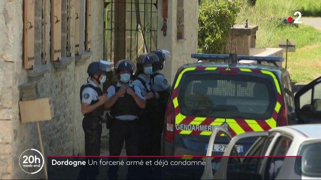 Chasse à l'homme en Dordogne : un forcené armé et déjà condamné