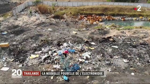 Thaïlande : la nouvelle poubelle de l'électroniqueo