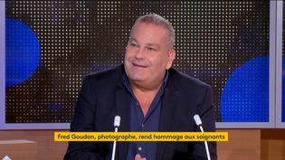 Fred Goudon (Capture d'écran Franceinfo)