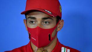 Charles Leclerc (Ferrari). (MARK SUTTON / POOL)