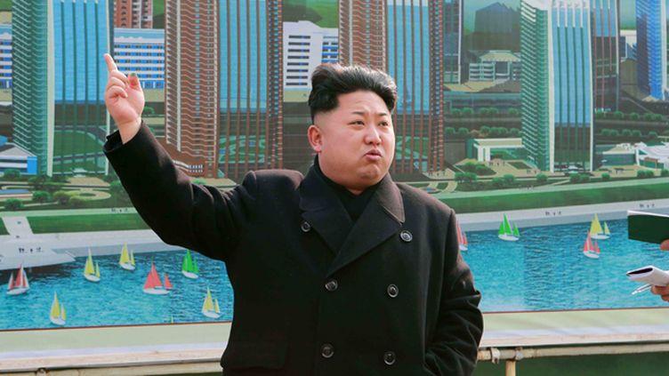 (Un essai ordonné par le le leader nord-coréen Kim Jong-Un annonce la télévision d'Etat © SIPA / CHINE NOUVELLE)