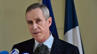 Le procureurFrançois Molins devant la presse à Nice, le 15 juillet 2016. (GIUSEPPE CACACE / AFP)