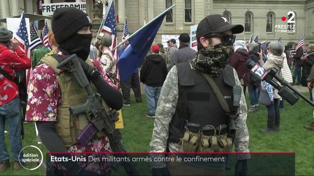 États-Unis : manifestation armée au Michigan pour demander la fin du confinement
