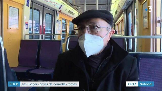 Transports : les nouvelles rames du RER B se font attendre en région parisienne