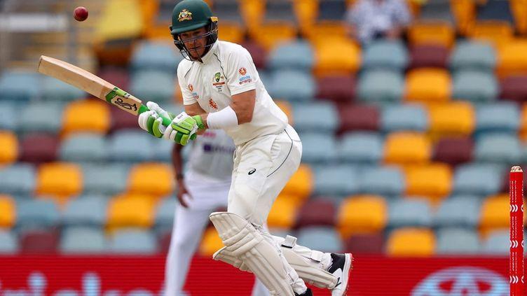 Le capitaine de l'équipe d'Australie Tim Painea menacé de boycotter la coupe du monde de cricket, vendredi 10 septembre 2021, si les talibans n'autorisaient pas les femmes à pratiquer le sport. (PATRICK HAMILTON / AFP)