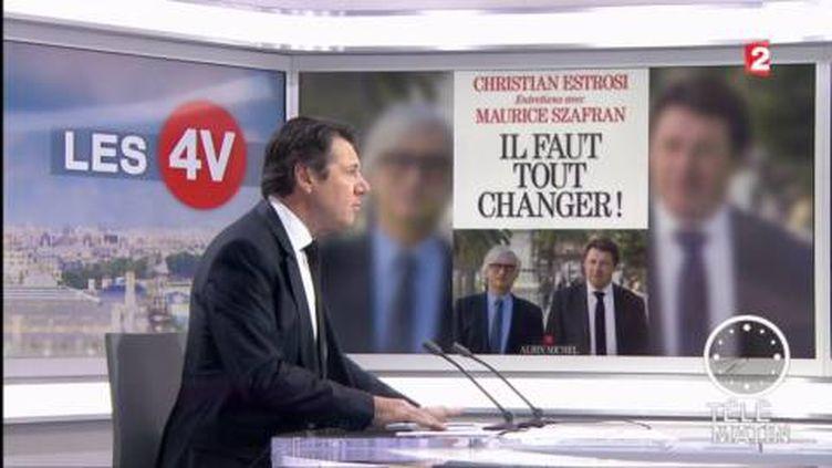 Christian Estrosi dans les 4 Vérités (France 2)