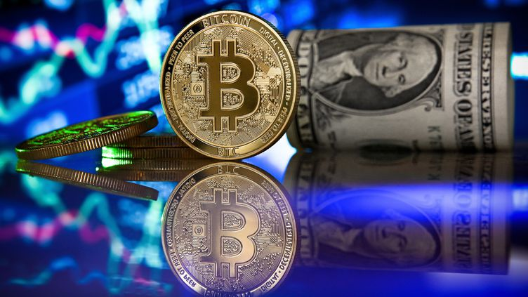Le Salvador fait le pari du bitcoin, illustration (20 janvier 2021). (SASCHA STEINBACH / EPA)