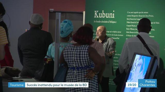 Record historique de fréquentation du musée de la BD d'Angoulême