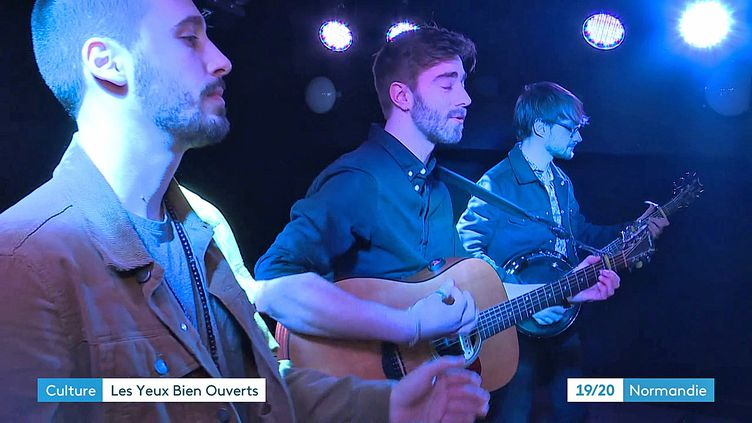 """Le groupe de folk Breaky Boxes sort sont premier """"Resting Wall"""" le 6 mars 2020 (France 3 Rouen)"""