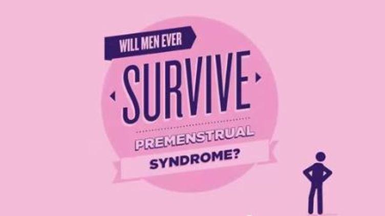 Capture d'écran de la vidéo promotionnelle de l'application SOS PMS. (DONNA MAG / YOUTUBE / FRANCETV INFO)