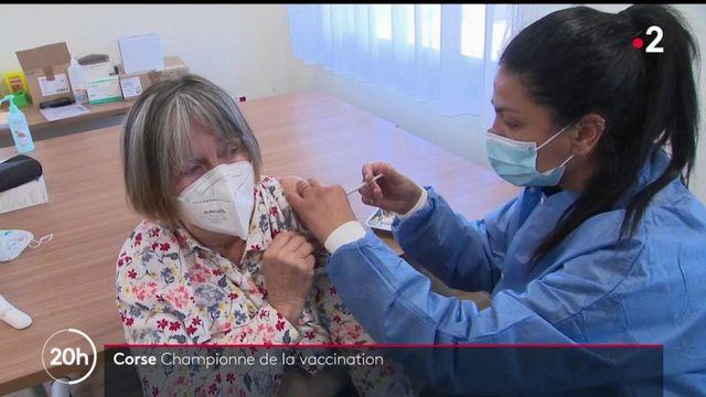 Covid-19 : la Corse du Sud a déjà vacciné 21,1 % de sa population