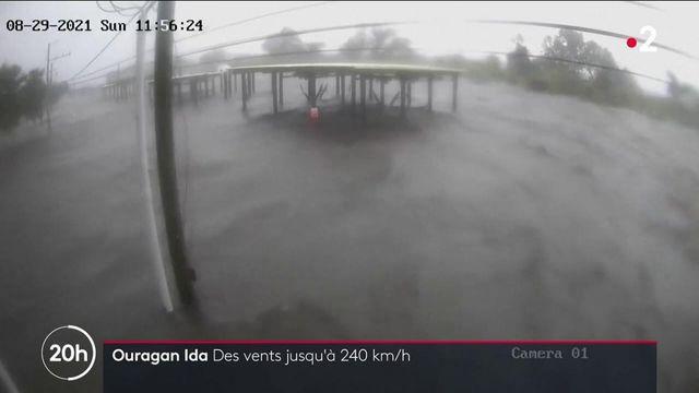 États-Unis : Ida, rétrogradée en tempête tropicale, mais tout de même destructeur