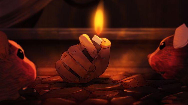 """La main coupée de """"J'ai perdu mon corps"""". (Xilam Animation - Auvergne-Rhône-Alpes Cinéma)"""