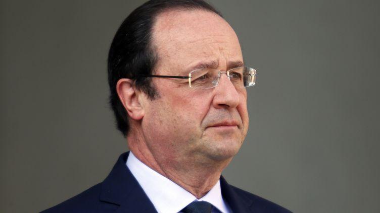 François Hollande à l'Elysée, à Paris, le 26 mars 2014. (CHARLES PLATIAU / REUTERS)