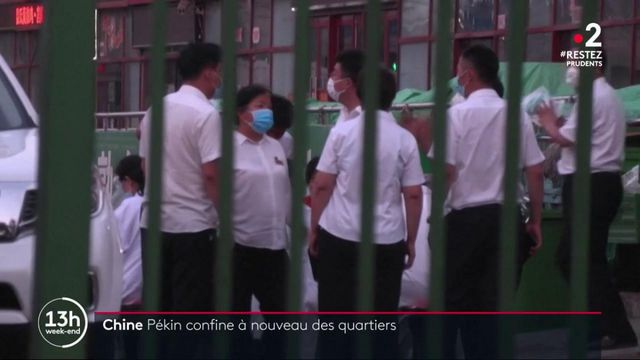 Chine : nouveau cluster de l'épidémie dans un marché de Pékin