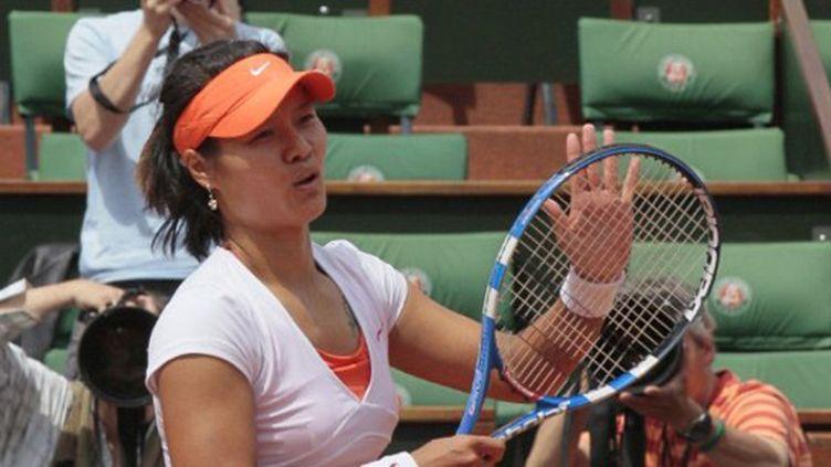 Li Na, première chinoise en quarts de finale à Roland-Garros